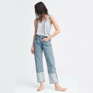 Rag & Bone NWT Maya High Rise Straight Leg Jeans